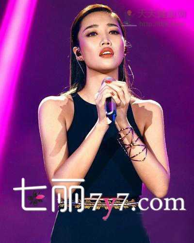 发型图片 《我是歌手》选手黄丽玲发型点评