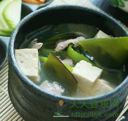 海带豆腐汤的功效是什么