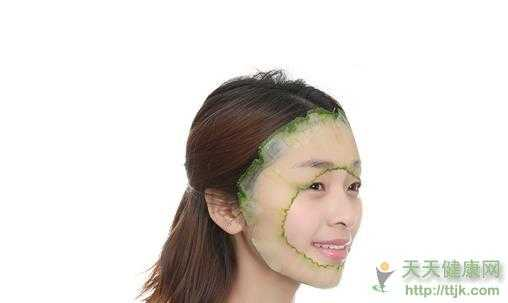 长期用黄瓜敷脸竟会毁害肌肤?