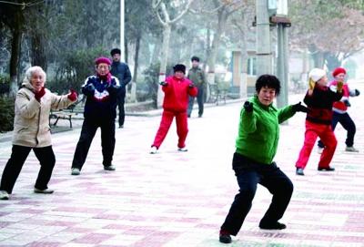 老年人运动勿忽视准备活动